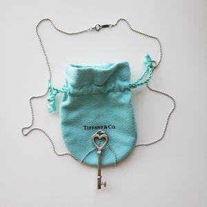 Tiffany & Co Tiffany Keys Heart Key Pendant and St